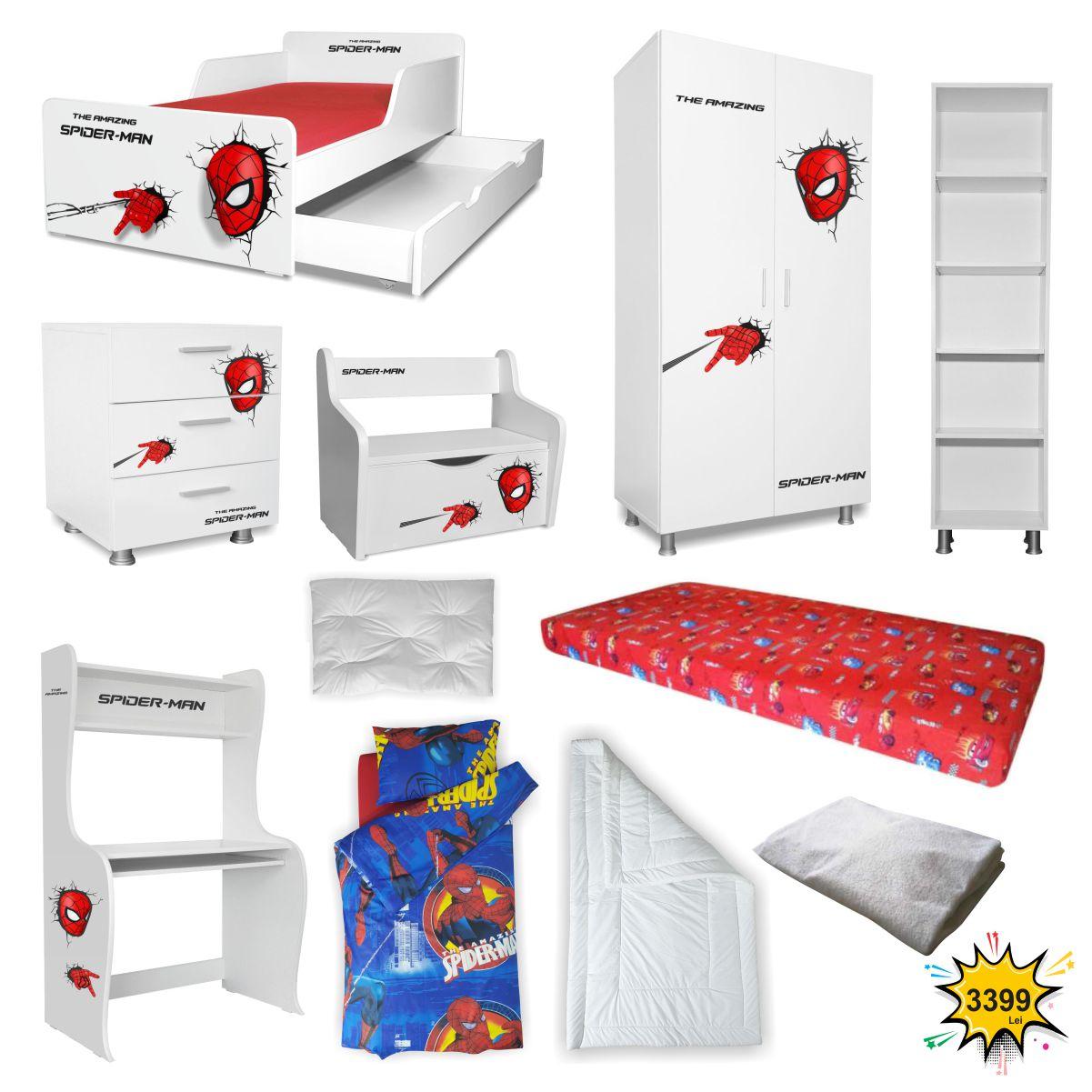 Pachet Dormitor Start Spiderman