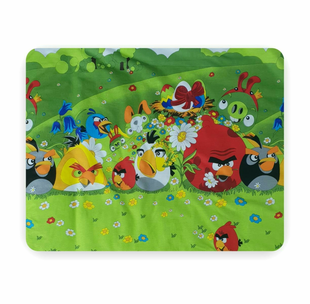 Lenjerie 3 piese Angry Birds 2-8 ani