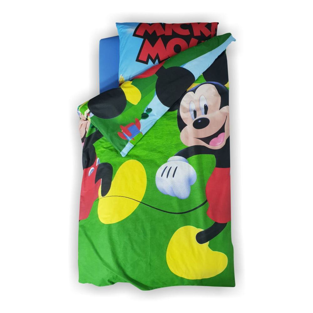 Lenjerie pat copii Mickey A 2-8 ani