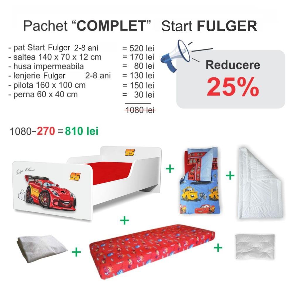 Pachet Promo Complet Start Fulger 2-8 ani