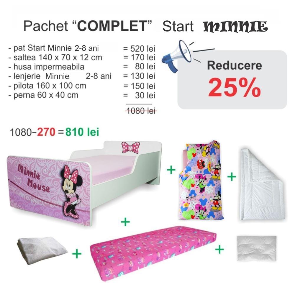 Pachet Promo Complet Start Minnie 2-8 ani