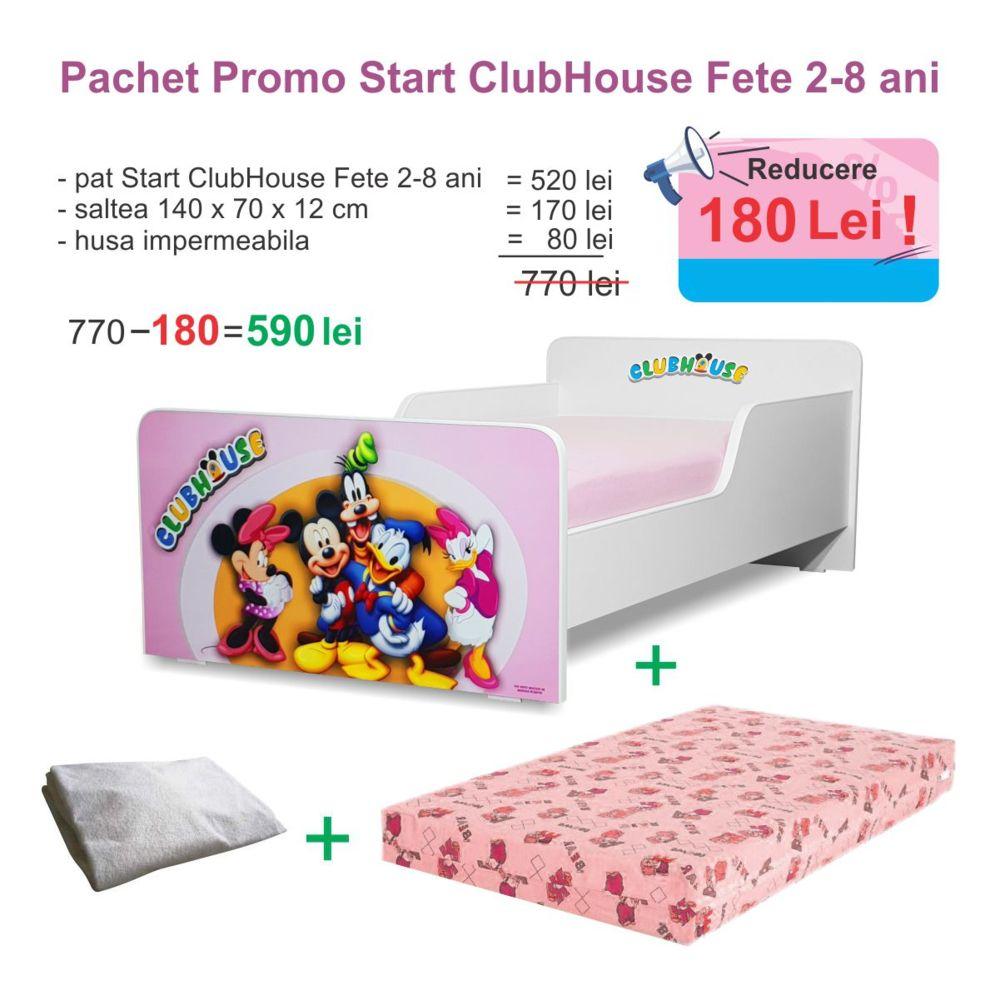 Pachet Promo Start ClubHouse Fete 2-8 ani