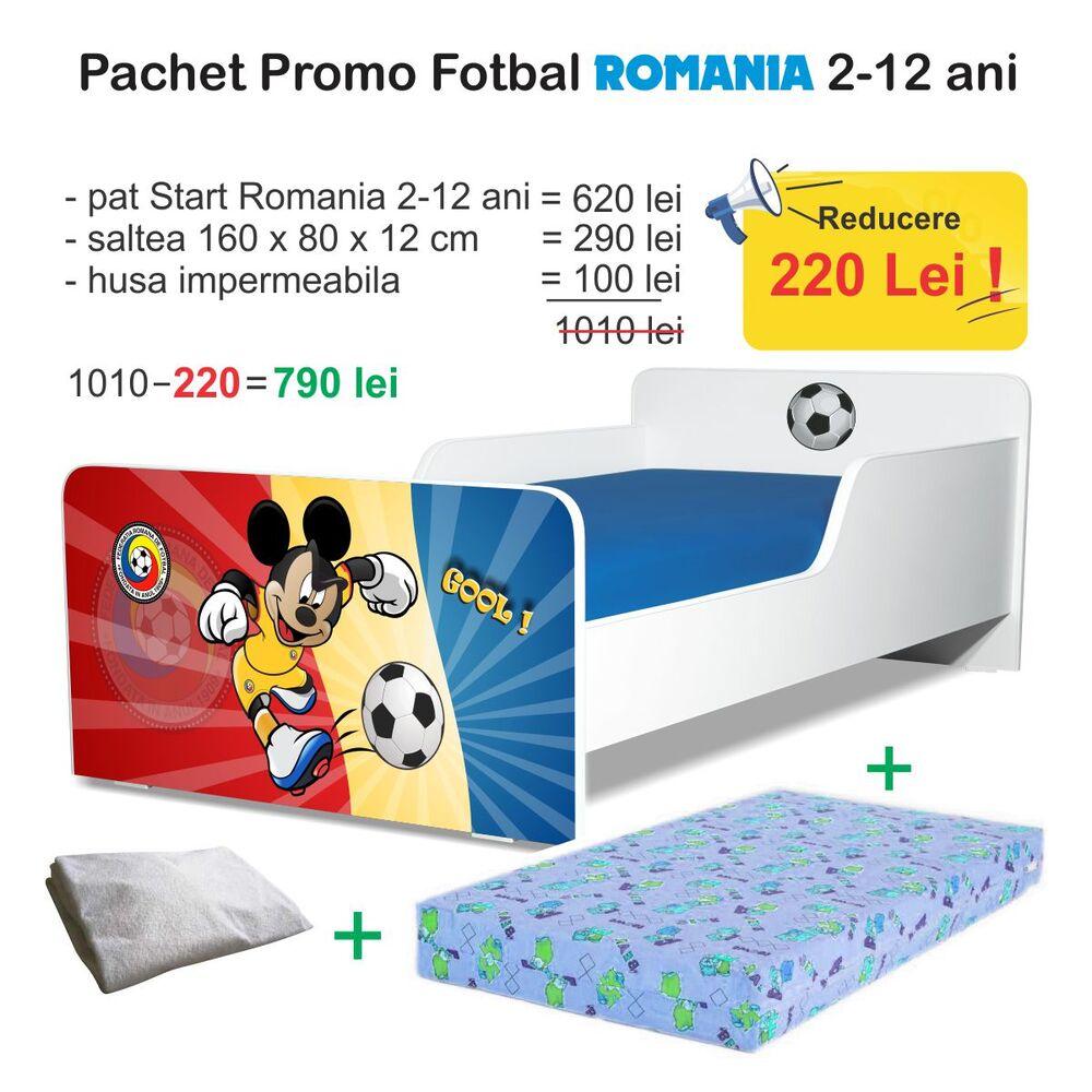 Pachet Promo Start Fotbal Romania 2-12 ani