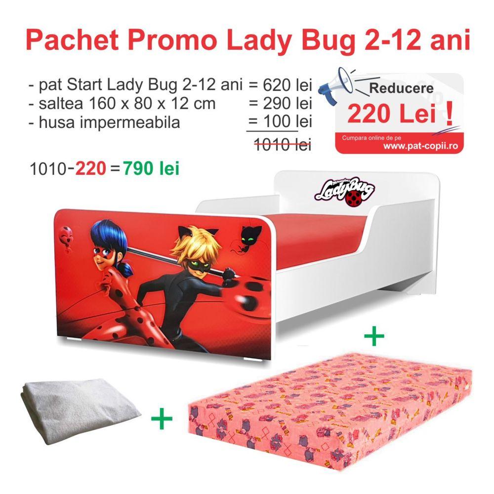 Pachet Promo Start LadyBug 2-12 ani