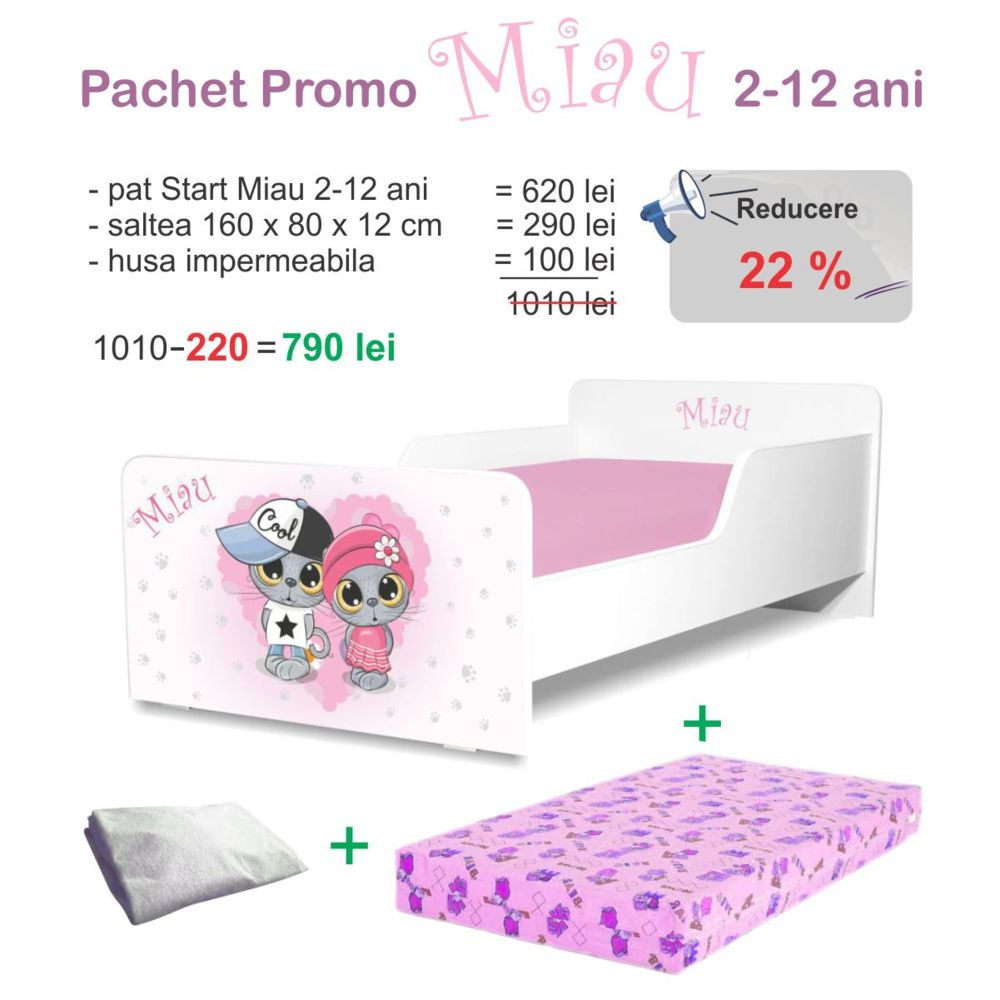 Pachet Promo Start Miau 2-12 ani