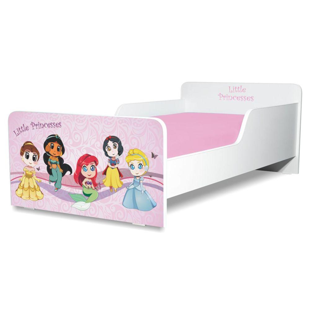 Pat copii Little Princesses 2-12 ani