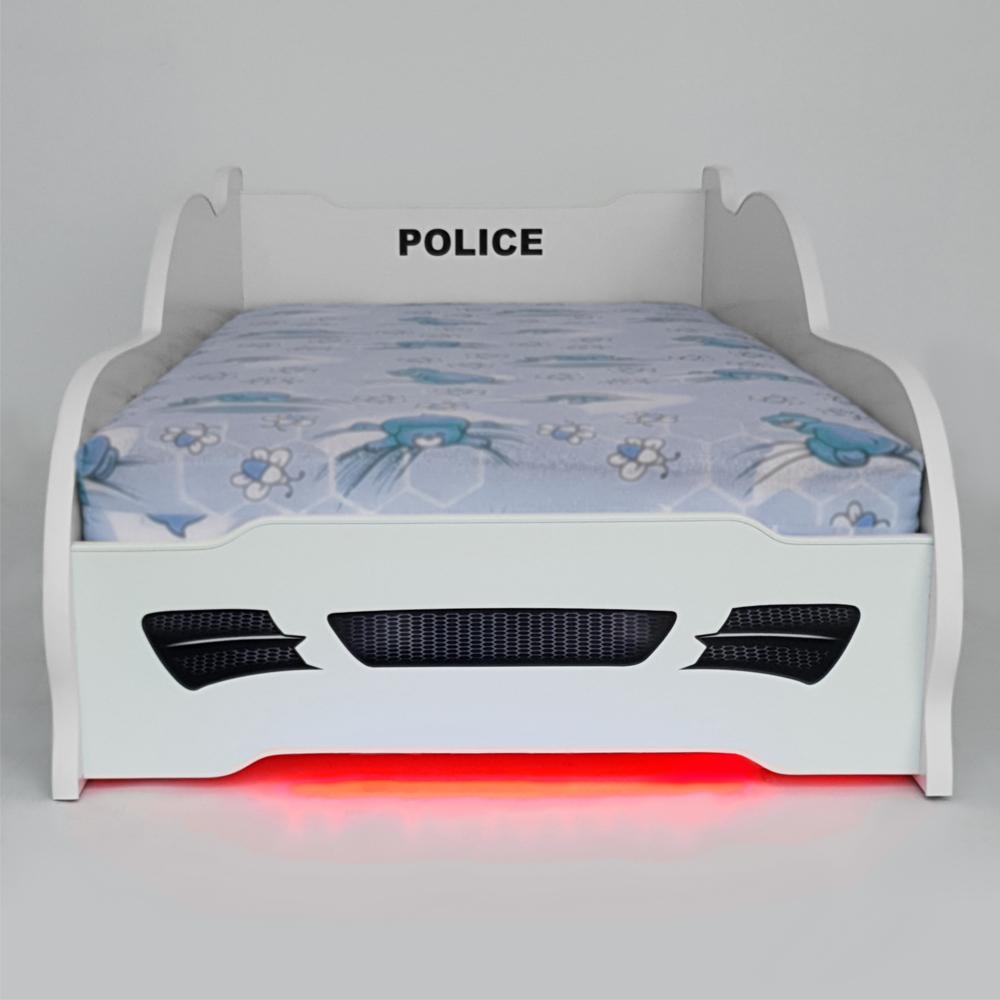 Pat copii Police-2 cu lumini 2-16 ani