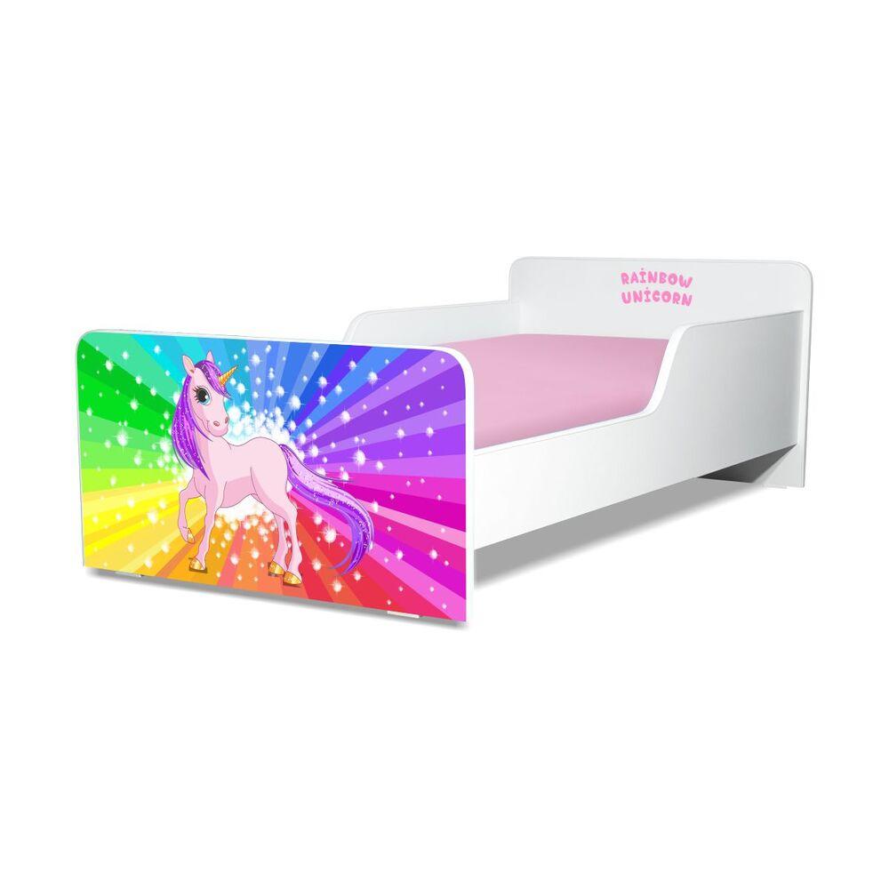 Pat copii Rainbow Unicorn 2-12 ani