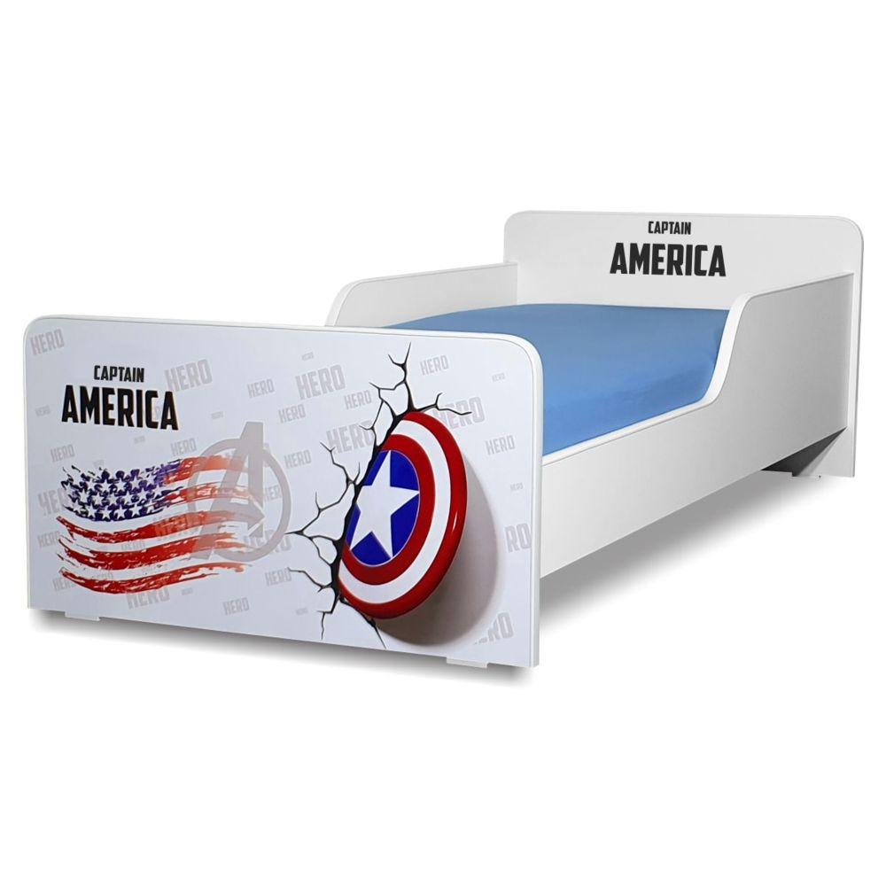 Pat copii Start Captain America 2-8 ani