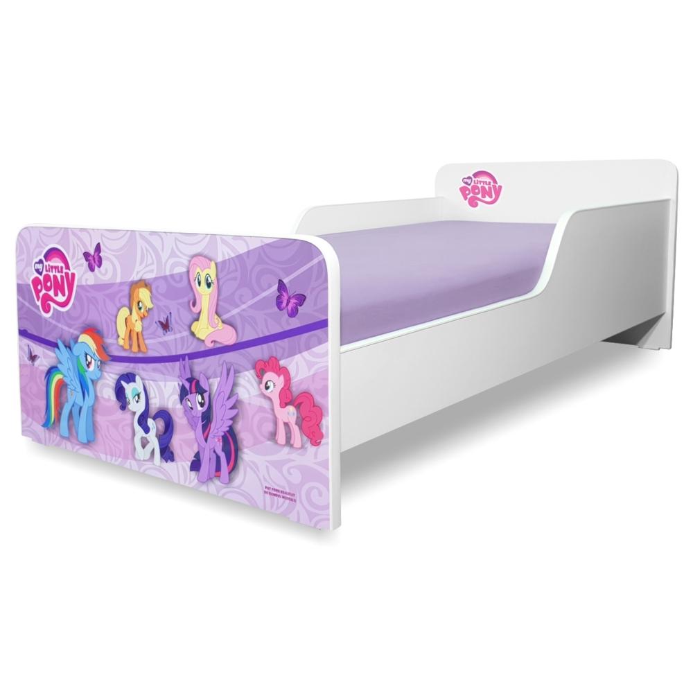 Pat copii Start Pony 2-8 ani cu saltea cadou