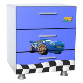 Comoda Fulger 3D Blue