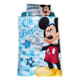 Lenjerie pat copii Mickey B 2-8 ani