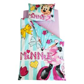 Lenjerie pat copii 3 piese - Minnie
