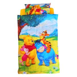 Lenjerie pat copii 3 piese - Winnie 2-8 ani