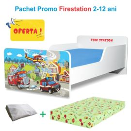 Pachet Promo Pat copii Firestation 2-12 ani