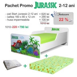 Pachet Promo Pat copii Jurassic 2-12 ani
