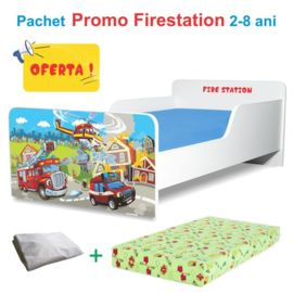Pachet Promo Pat copii Start Firestation 2-8 ani