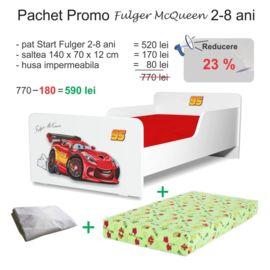 Pachet Promo Pat copii Start Fulger McQueen 2-8 ani