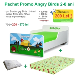 Pachet Promo Start Angry Birds 2-8 ani