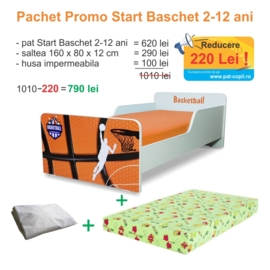 Pachet Promo Start Baschet 2-12 ani