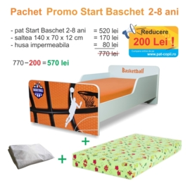 Pachet Promo Start Baschet 2-8 ani