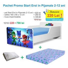 Pachet Promo Start Eroi in Pijamale 2-12 ani