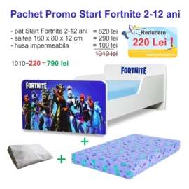 Pachet Promo Start Fortnite 2-12 ani