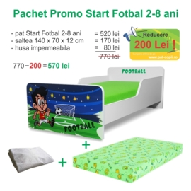 Pachet Promo Start Fotbal 2-8 ani