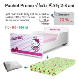 Pachet Promo Start Hello Kitty 2-8 ani