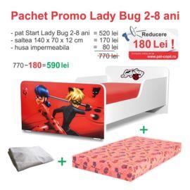 Pachet Promo Start LadyBug 2-8 ani