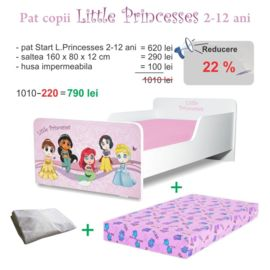 Pachet Promo Start Little Princesses 2-12 ani