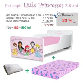 Pachet Promo Start Little Princesses 2-8 ani