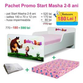 Pachet Promo Start Masha 2-8 ani