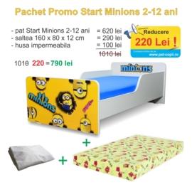 Pachet Promo Start Minions 2-12 ani