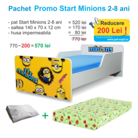 Pachet Promo Start Minions 2-8 ani