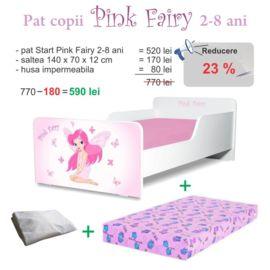 Pachet Promo Start Pink Fairy 2-8 ani