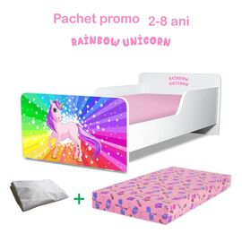 Pachet Promo Start Rainbow Unicorn 2-8 ani