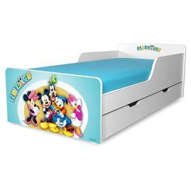 Pat copii ClubHouse B 2-12 ani cu sertar