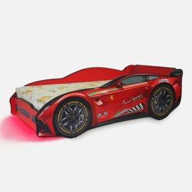 Pat copii Ferrari Tech 2-12 ani - lumini