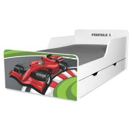Pat copii Formula 1 2-12 ani cu sertar