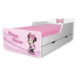 Pat copii Minnie 2-12 ani cu sertar
