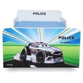 Pat copii Police 2-12 ani cu sertar