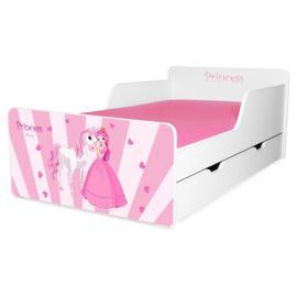 Pat copii Princess Pony 2-12 ani cu sertar