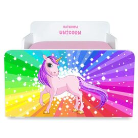 Pat copii Rainbow Unicorn 2-12 ani