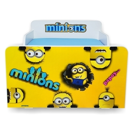 Pat copii Start Minions 2-12 ani cu saltea cadou