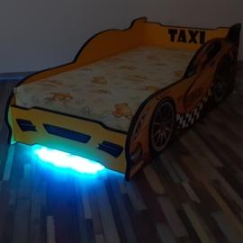Pat copii Taxi LV 2-8 ani