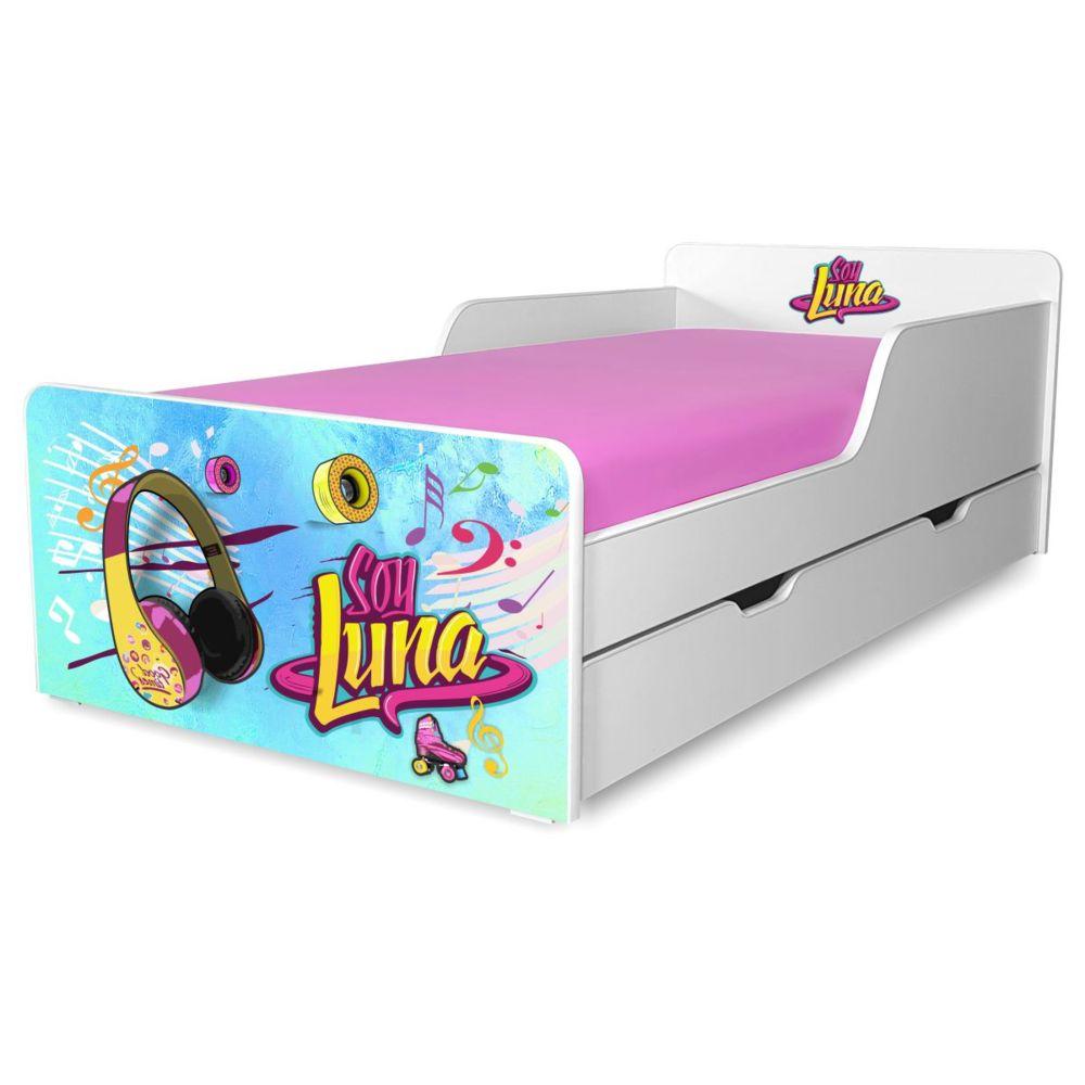 Pat copii Soy Luna 2-12 ani cu sertar
