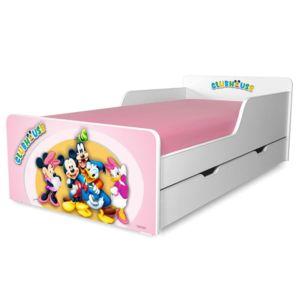 Pat copii ClubHouse F 2-12 ani cu sertar